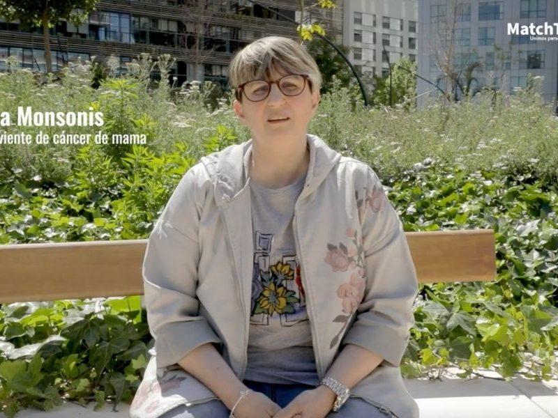 Sandra Monsonís, superviviente de cáncer de mama