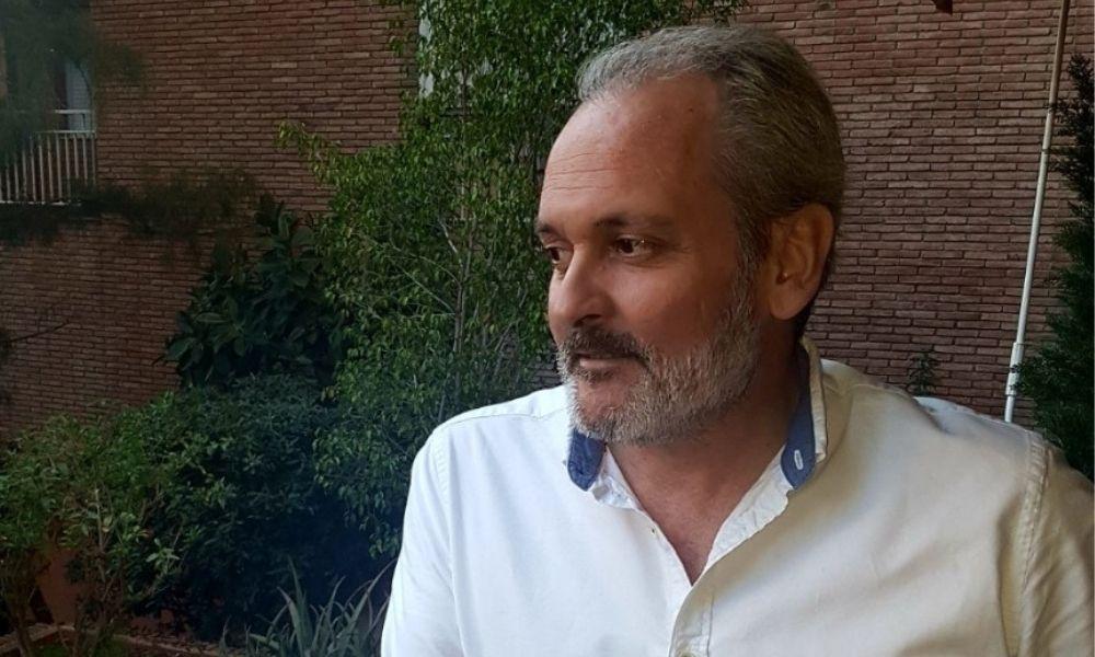 Màrius Soler, presidente de la asociación INVI de cáncer de mama masculino